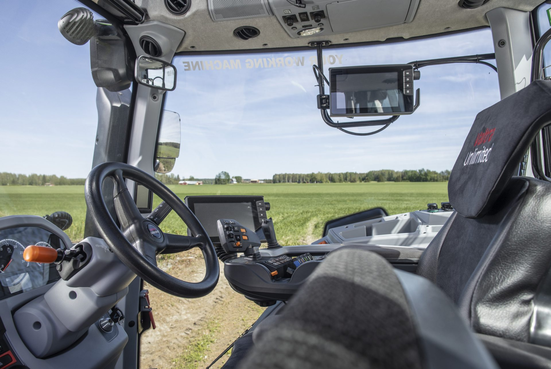 Tractor Valtra N 134 V Smart Touch