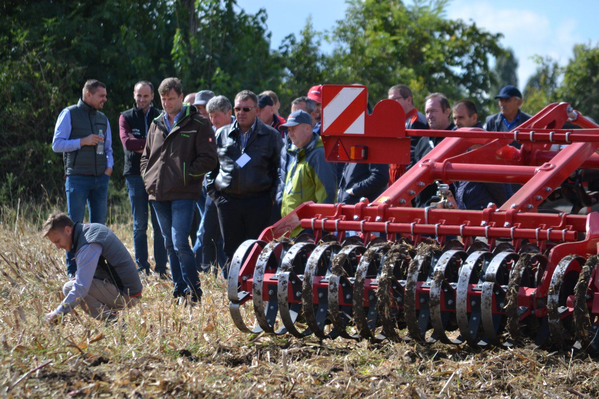 Cultivator Horsch TERRANO GX la demonstrații