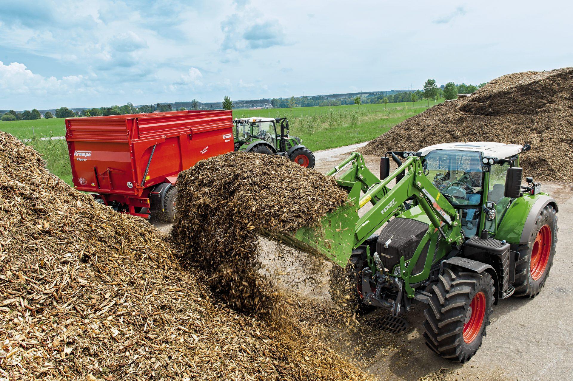 Tractor Fendt 722 Vario Power
