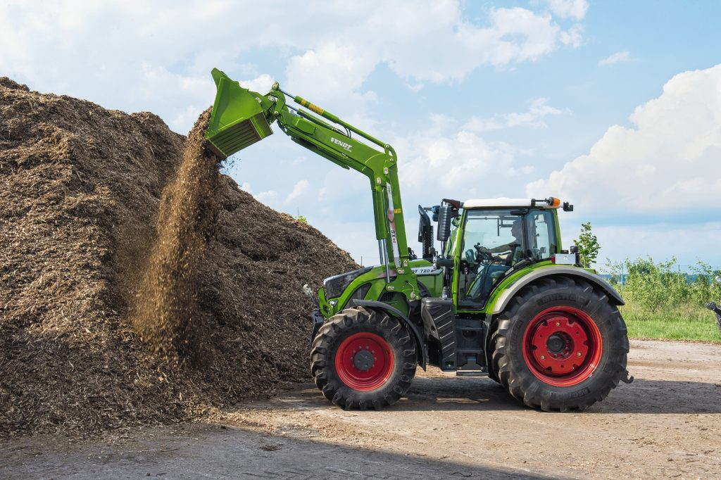 Tractor Fendt 720 Vario Power