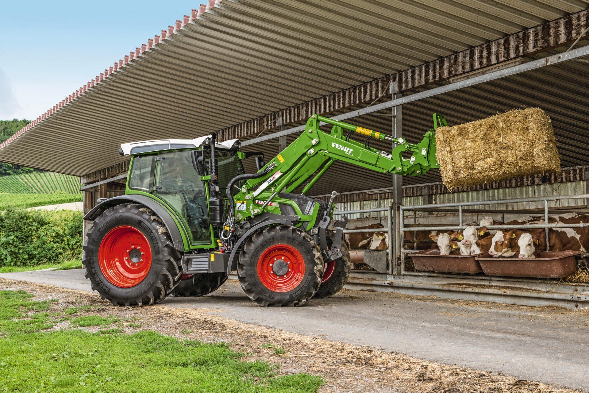 Tractor Fendt 207 Vario