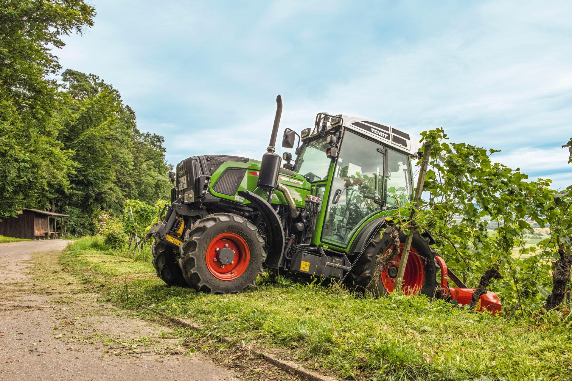 Tractor Fendt 209 VF Vario