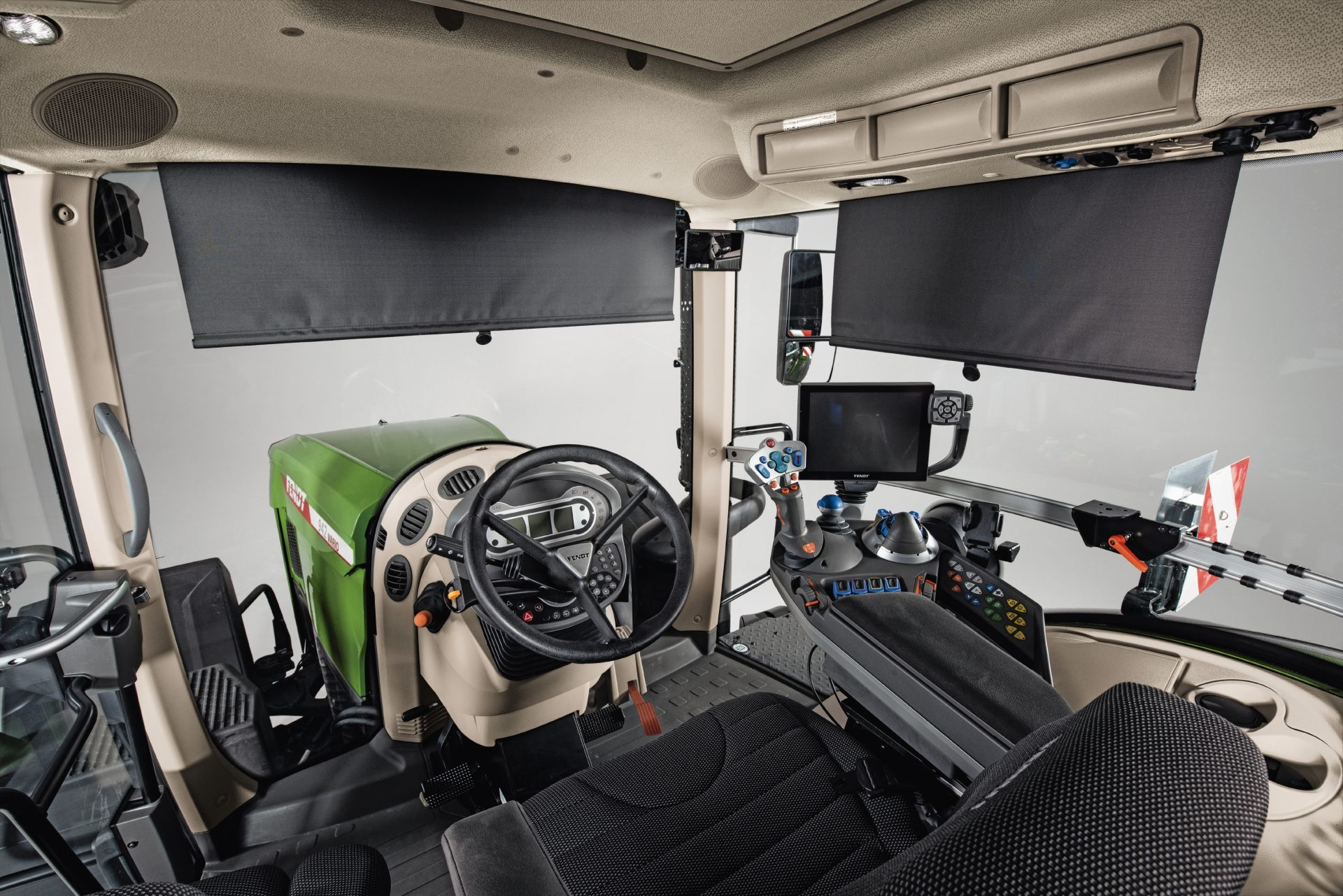 Interior cabina Fendt 936 Vario Power