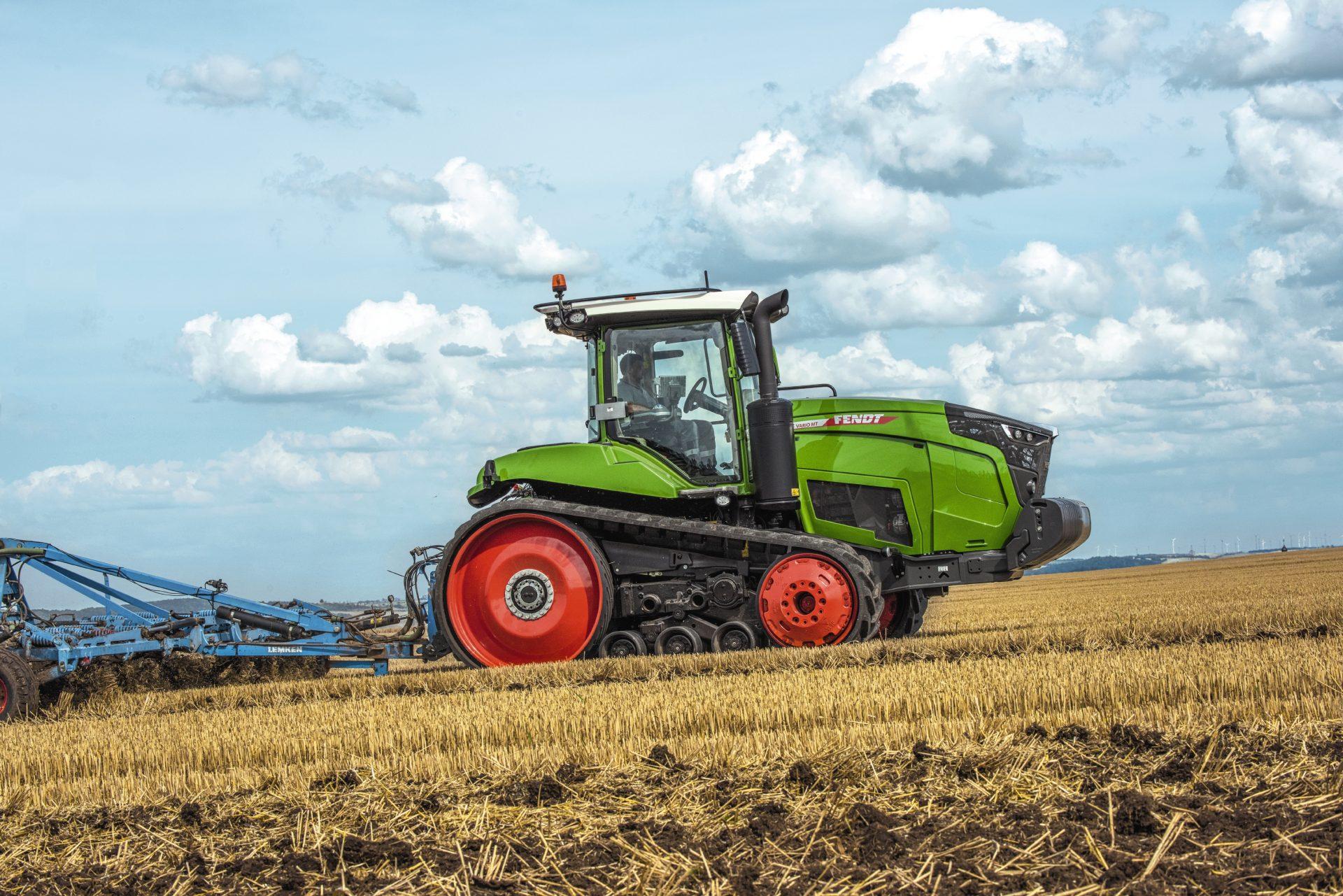 Tractor Fendt 938 Vario MT