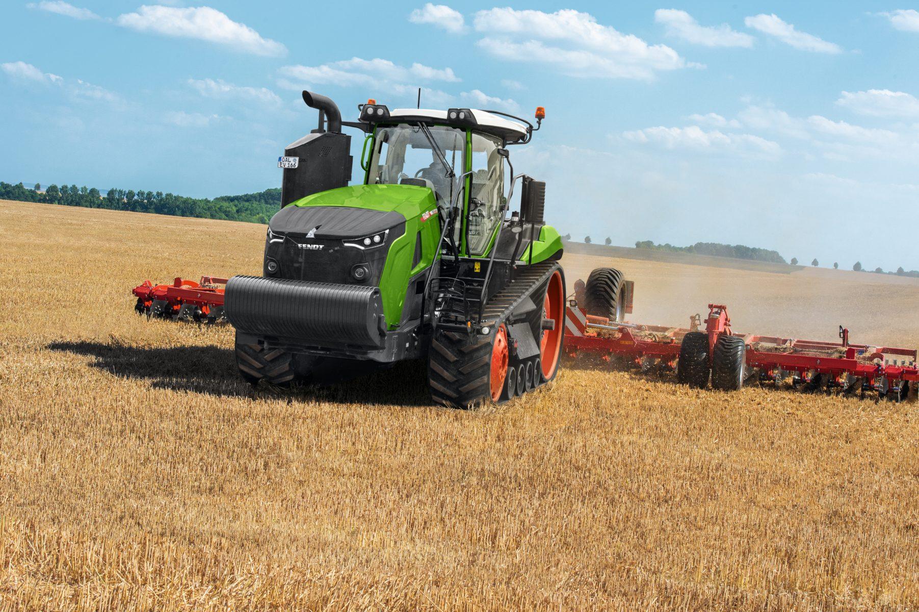 Tractor cu șenile Fendt 1151 MT