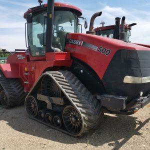 Tractor cu șenile CASE Quadtrac 500