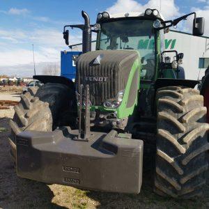 Tractor FENDT 939 VARIO SCR POWER, suspensie punte față, girofar, bară de tracțiune