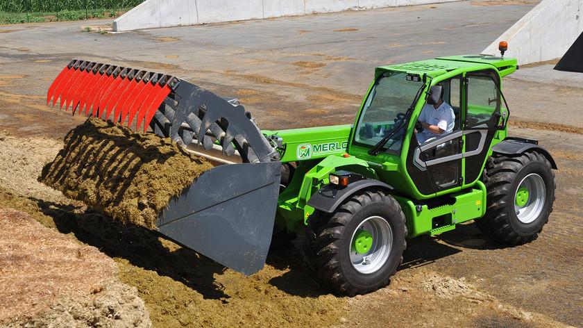 Utilaje si echipamente agricole-Merlo Turbofarmer 50.8 T-170