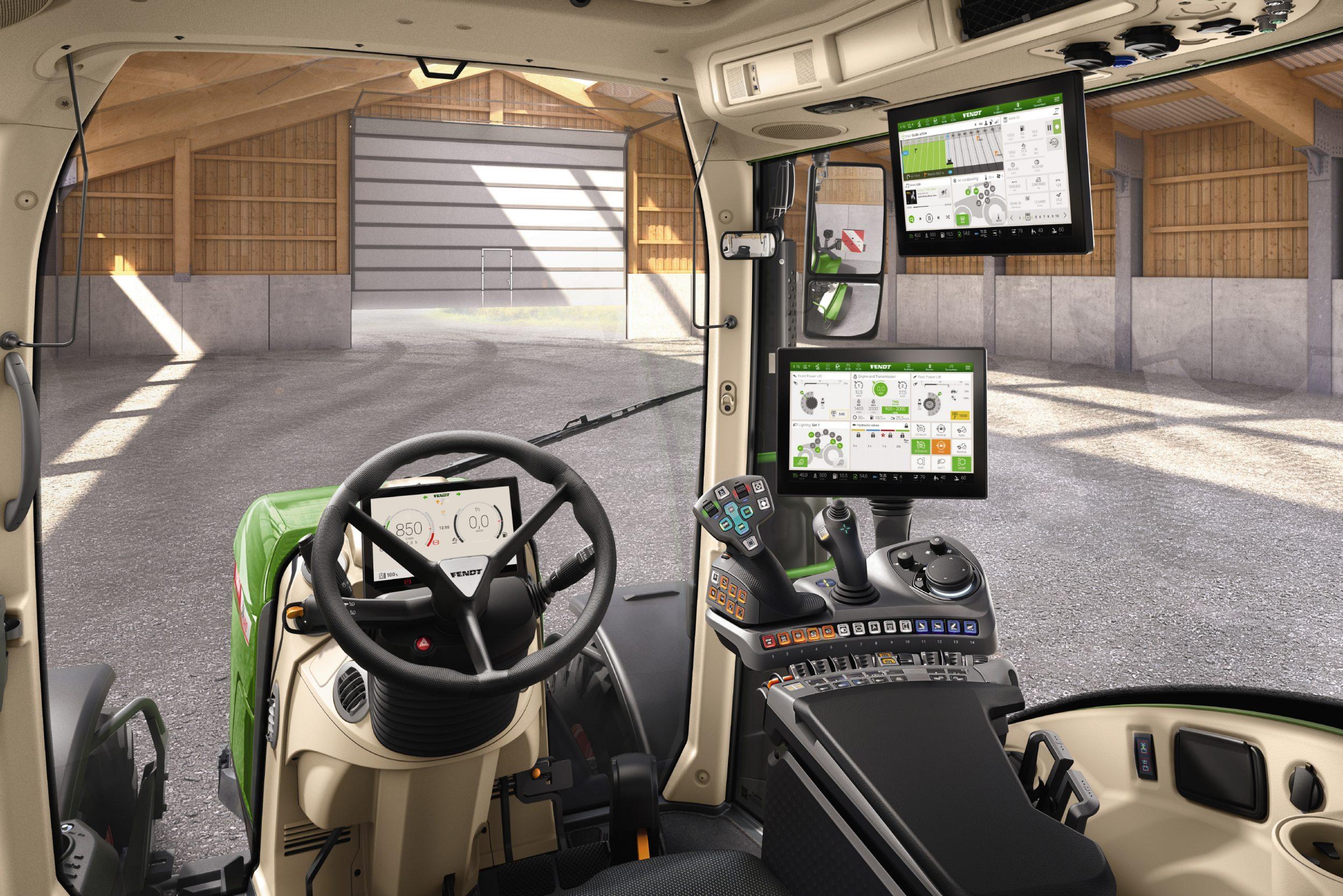 Interior tractor Fendt 724 Vario Profi