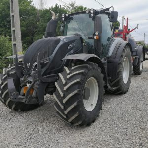 Tractor Valtra T 214D second hand, suspensie punte fata; ridicator frontal 51kN