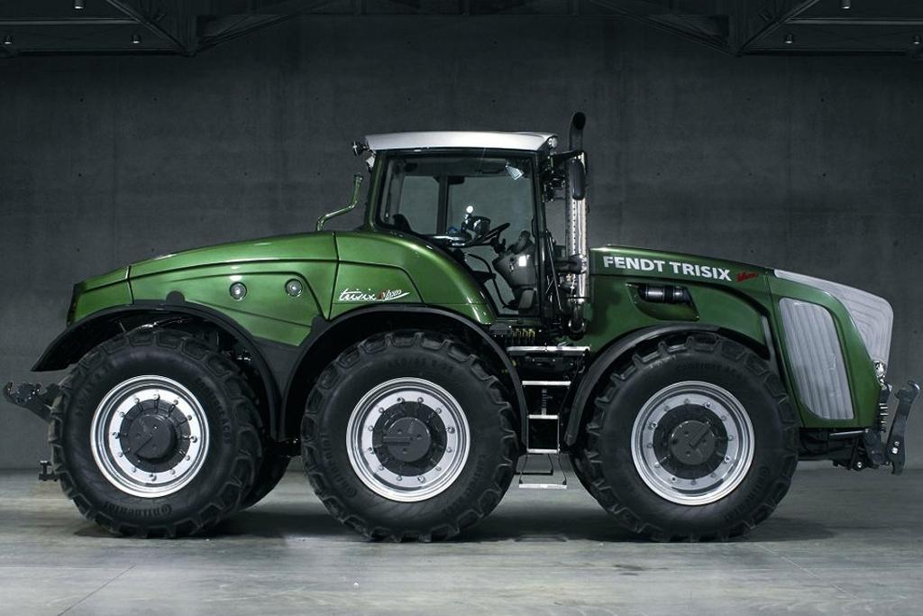 Tractor Fendt TRISIX - Agritehnica 2007